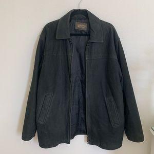 VINTAGE oversized rider jacket (Hugo Boss)